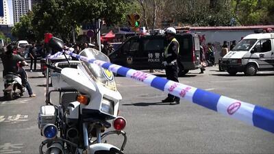 Asaltantes armados con cuchillos mataron a 29 dejaron 143 heridos en China