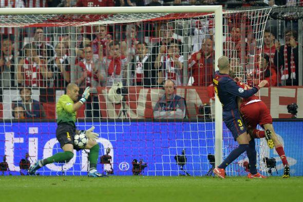Los bávaros no defraudaron y con 25 minutos jugados apareció Thomas Müller.