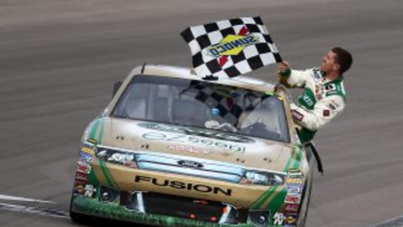 Carl Edwards había quedado segundo en el debut de la temporada, las 500...