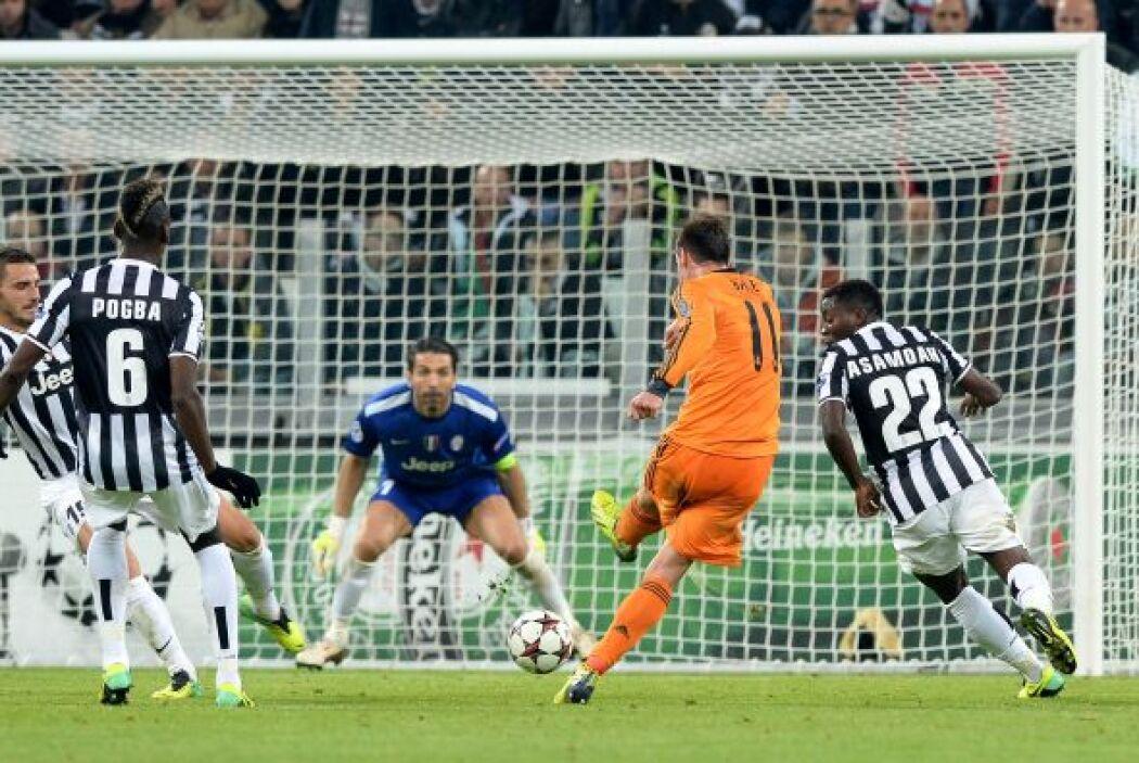 Una excelente jugada de Gareth Bale sirvió para otro tanto 'merengue'.