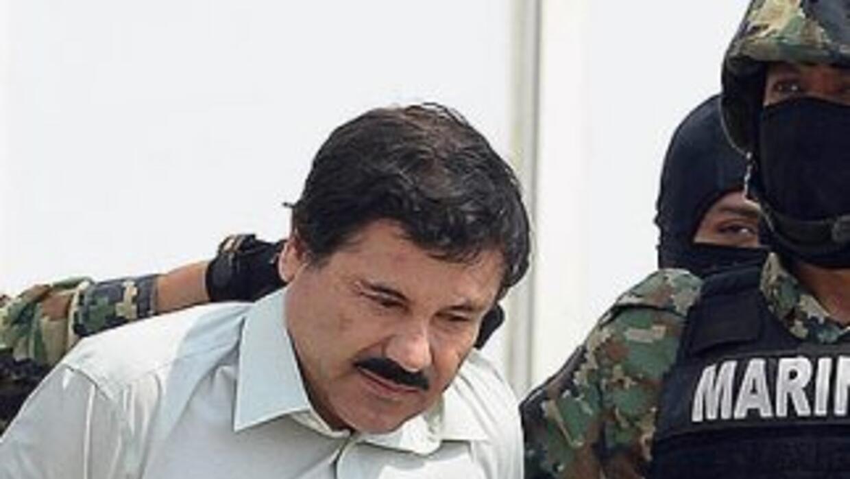 Joaquín El Chapo Guzmán tras ser capturado por segunda ocasión en febrer...