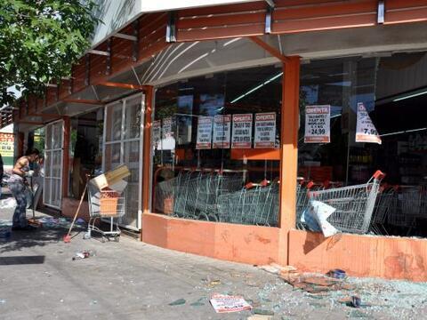 La noche del martes se realizaron varios saqueos en Córdoba Argen...