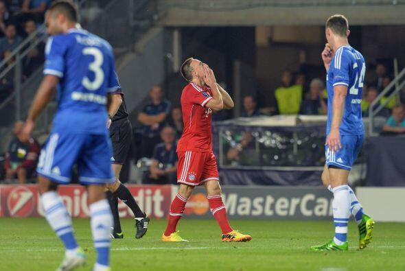 El equipo alemán gozó de buenas oportunidades pero poca puntería.