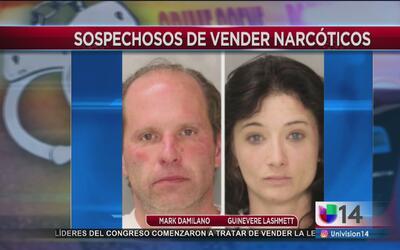 Arrestan a pareja por posesión de metanfetaminas