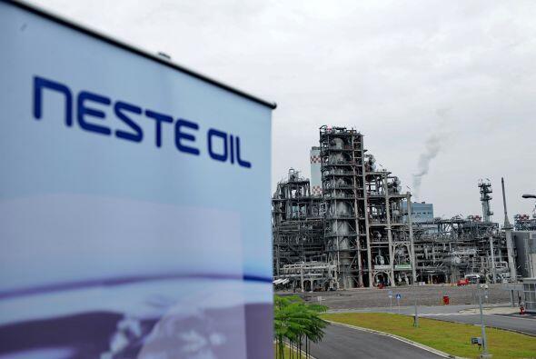 NESTE OIL- La compañía petrolera finlandesa Neste Oil aumentó su benefic...