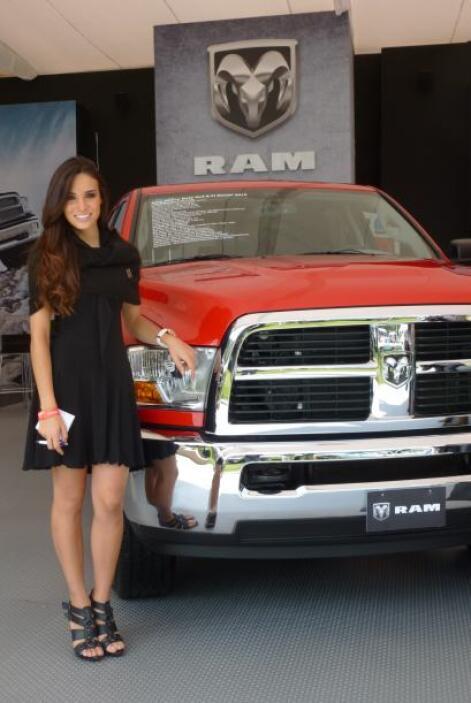 RAM fue una de las marcas que aprovevchó el Concurso de Elegancia para m...