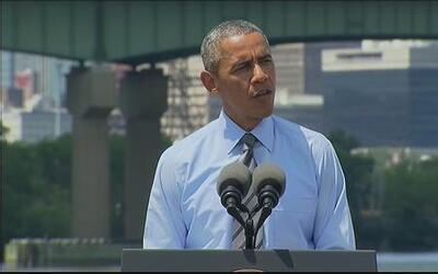 Obama esta en contacto con el gobierno ucraniano tras accidente de avión