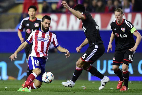 Las pocas llegadas de Atlético de Madrid y el Leverkusen acabaron...