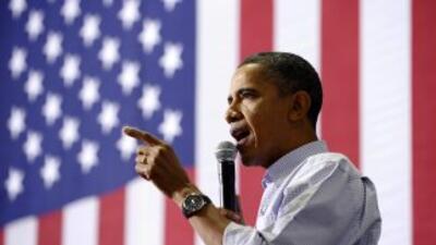 Cada vez están más cerca las elecciones en Estados Unidos, y Barack Obam...