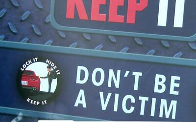 Recomendaciones de la Policía de Los Ángeles para evitar accidentes de t...