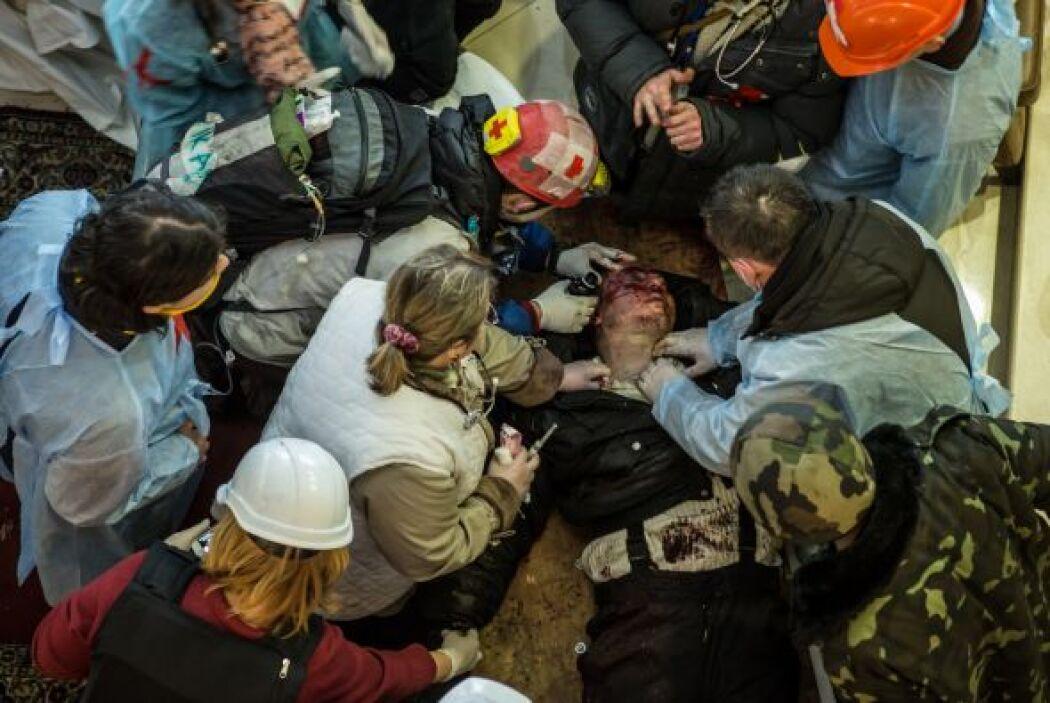 El jueves un periodista de The Associated Press contó los cadáveres de 2...