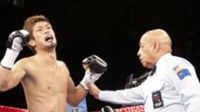 Ishida derrotó a Kirkland el abril pasado (Foto: Canelo Promotions)
