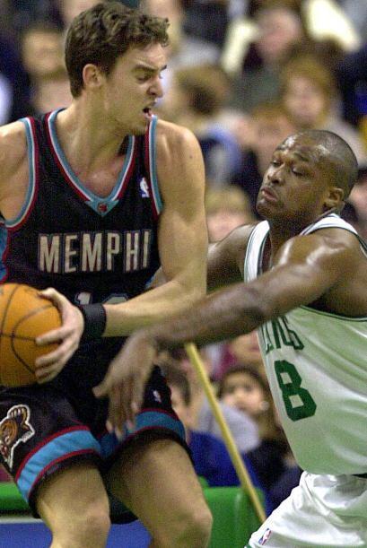A pesar de lo exigente que es la NBA, Gasol ha seguido jugando con la se...