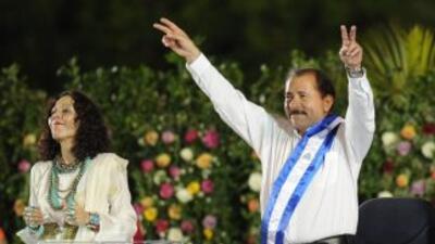 Ortega ganó los comicios del último noviembre con el 62.46 por ciento de...