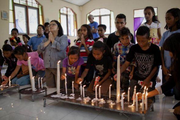 En Indonesia los cristianos son minoría (la mayoría de la población es m...