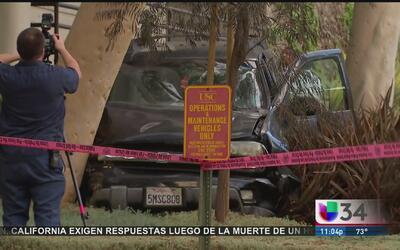 Persecución de detenido se convierte en tiroteo en las calles de Los Áng...