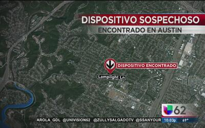 Una granada vieja provoca fuerte movilización policiaca al norte de Austin