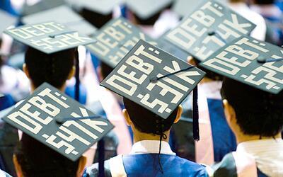 Hasta el cuello por los préstamos estudiantiles