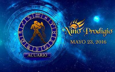 Niño Prodigio - Acuario 23 de mayo, 2016
