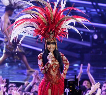 Nicki Minaj en los MTV VMA's.