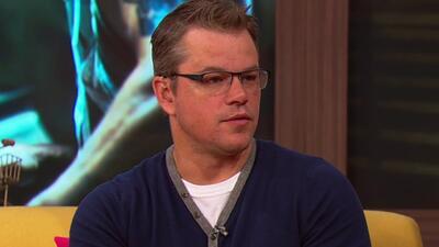 Matt Damon cuenta cómo fue trabajar con Diego Luna en su nueva película...