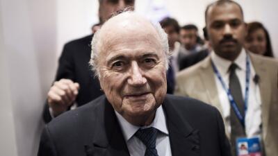 """Blatter: """"Esto no tienen cabida en el fútbol"""""""