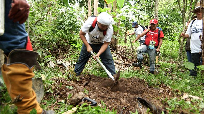 La Red de Enlaces Nacionales se consumó en abril de 2016 con la exhumaci...