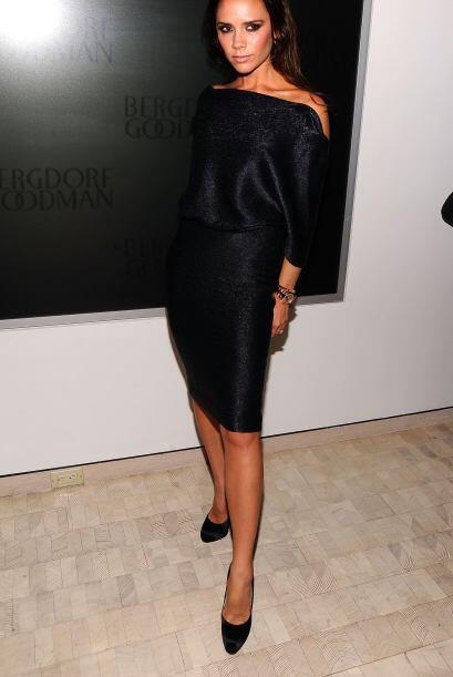 Victoria Beckham solía estar muy obsesionada con su figura, pues en sus...