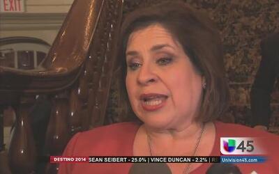 Leticia Van De Putte dice que seguirá luchando