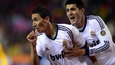 Angel Di María brilló y ayudó al Real Madrid a extender su racha invicta...