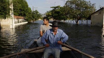 Crecida del río Paraguay