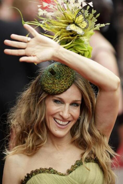 Durante la premier de la película, la actriz se convirtió en el centro d...