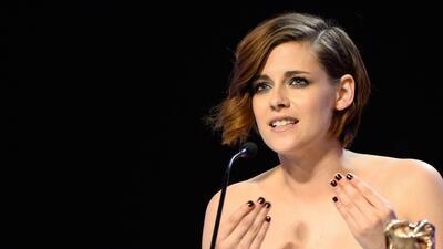 Kristen Stewart no espera elogios por su trabajo