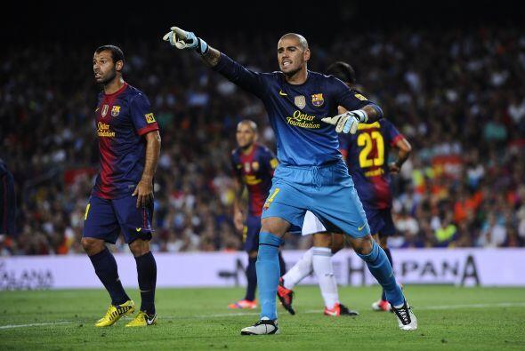 Barcelona recibió el primer gol del partido, pero más tarde remontó y pu...