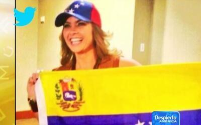 Lucero demostró su apoyo a los venezolanos en días difíciles