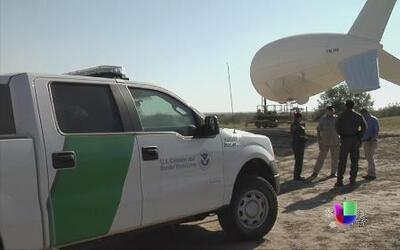 La Patrulla Fronteriza utilizará globos aerostáticos