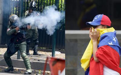 Los dos lados de las manifestaciones que sacuden a Venezuela
