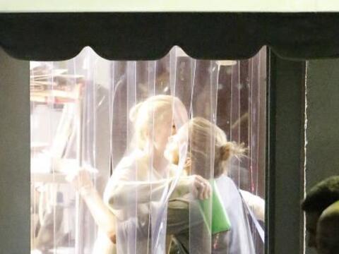 ¡Qué coincidencias! Las cámaras captaron a Gwyneth P...
