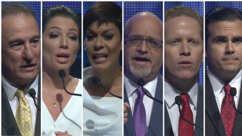 Candidatos debate
