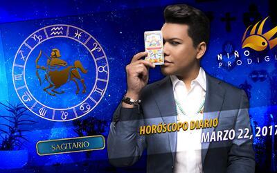 Niño Prodigio - Sagitario 22 de marzo, 2017