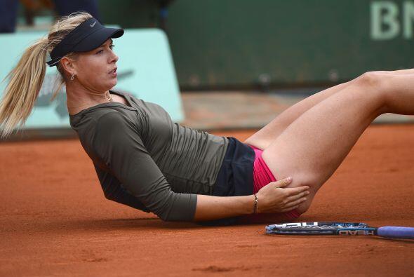 Sharapova no había perdido hasta esta ronda nada más que c...
