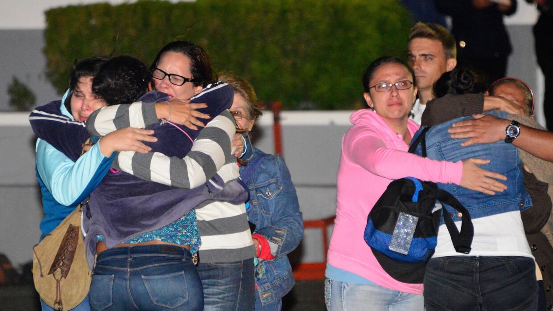 Sobrevivientes costarricenses del naufragio en Nicaragua