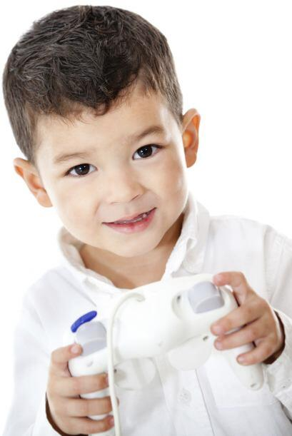 Una consola de videojuegos. Si su papá o su hermano mayor juegan con una...