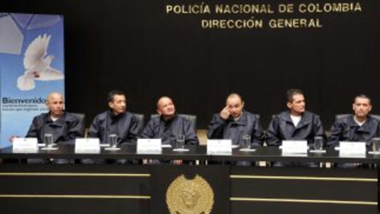 Los ex rehenes de las FARC ofrecieron una conferencia de prensa.