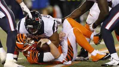 Texans 10-6 Bengals: con T.J. Yates HOU le quita el invicto a CIN (video)