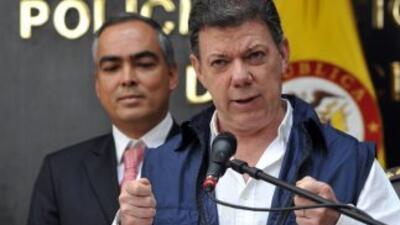 El gobierno del presidente colombiano, Juan Manuel Santos suspenderá ope...