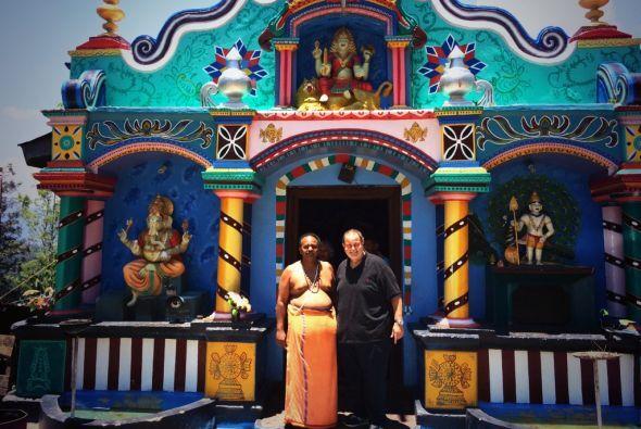 """""""El país está lleno de templos budistas y una vegetación increíble como..."""