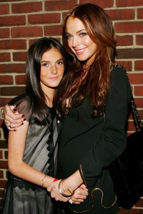 Lindsay y Aliana Lohan. Se parecen, son actrices y cantantes, pero en cu...