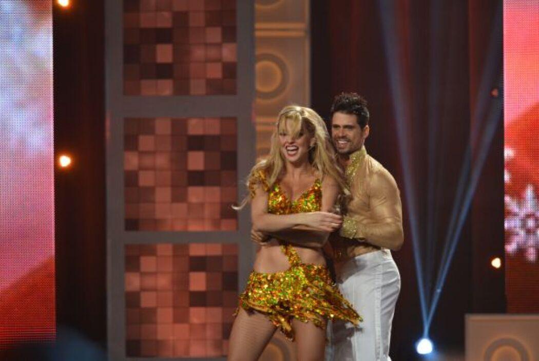 ...el segundo finalista de Mira Quién Baila, Pedro Moreno.