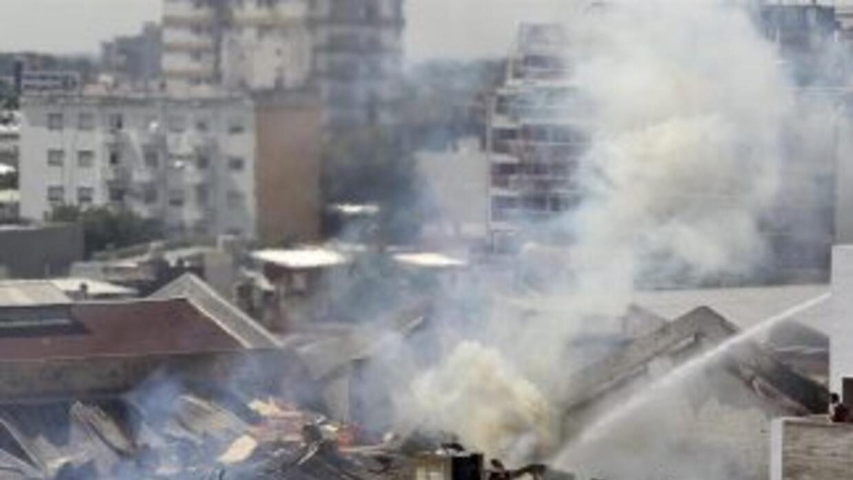 Fotos del trágico incendio en Argentina
